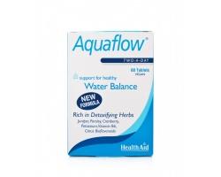 Health Aid Aquaflow 60 tablets, Φυσικό Διουρητικό που βοηθά στην αποβολή των τοξινών και των επιπλέον υγρών του οργανισμού