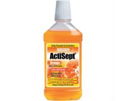 INTERMED Actisept Orange, Καθημερινό Φθοριούχο Στοματικό Διάλυμα με γεύση πορτοκάλι 500 ml