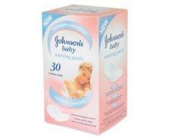 Johnson's & Johnson's, Johnson's Baby Επιθέματα Στήθους  30 τεμάχια