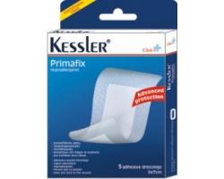 Kessler Clinica Primafix, Αποστειρωμένες αυτοκόλλητες για την προστασία μικροτραυμάτων 6 x 7cm 5 τεμάχια