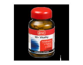 LANES Multivitamin 50+ Vitality, Συμπλήρωμα διατροφής με πολυβιταμίνες, πρεβιοτικά, λουτεΐνη και λυκοπένιο για δύναμη και αντοχή 30 ταμπλέτες