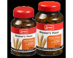 LANES Brewer's Yeast 300mg, Συμπλήρωμα διατροφής με μαγιά μπύρας, βιταμίνες Β1, Β2 και Βιοτίνη για την υγεία των μαλλιών και του δέρματος 200 ταμπλέτες