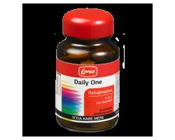 LANES Multivitamin Daily One, Συμπλήρωμα διατροφής με πολυβιταμίνες Α to Z με γεύση πορτοκάλι για υγεία και τόνωση όλη τη μέρα 30 ταμπλέτες
