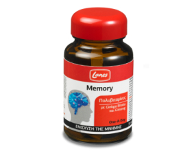 LANES Memory, Συμπλήρωμα διατροφής με πολυβιταμίνες, gingo biloba και ginseng για την ενίσχυση της μνήμης 30 ταμπλέτες