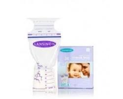 Lansinoh Σακουλάκια αποθήκευσης μητρικού γάλακτος 25 τεμάχια