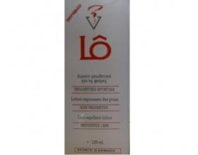 LO Αντιφθειρική Λοσιόν για τα Μαλλιά κατάλληλο για τα παιδιά με άρωμα πασχαλιά 120ml