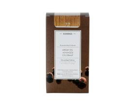 KORRES 7.7 Βαφή Μαλλιών με Έλαιο Argan & φυτική Κερατίνη, ΜΟΚΑ 50ml