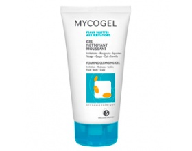 Mycogel Gel Nettoyant Moussant, Foaming cleansing gel, Τζέλ καθαρισμού για πρόσωπο και σώμα κατά των μυκητιάσεων 150ml