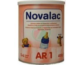 NOVALAC AR, Βρεφικό γάλα για μέτριες ή ήπιες αναγωγές κατάλληλο για βρέφη από τη στιγμή της γέννησης 400gr