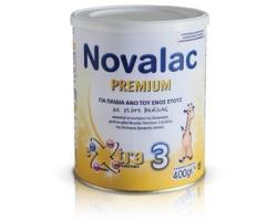 Novalac Premium 3, Βρεφικό γάλα για παιδιά άνω του ενός έτους 400gr