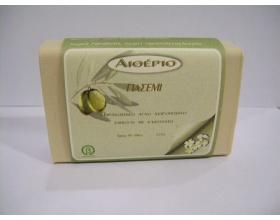 Novomed ΑΙΘΕΡΙΟ, Χειροποίητο σαπούνι από αγνό ελαιόλαδο και γιασεμί με αντιρυτιδικη και απαλυντική δράση 100g