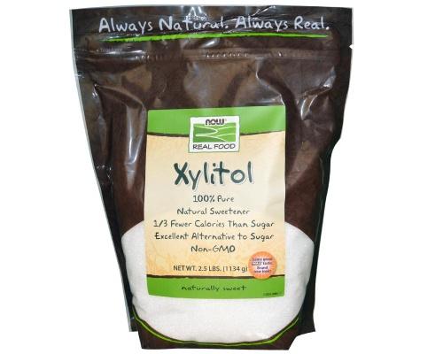 NOW FOODS Xylitol, Φυσικό γλυκαντικό από ξυλιτόλη σε μικροκρυστάλλους 445gr