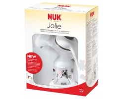 NUK Jolie Χειροκίνητο θήλαστρο μητρικού γάλακτος για ήπια αναρρόφηση 1τεμάχιο