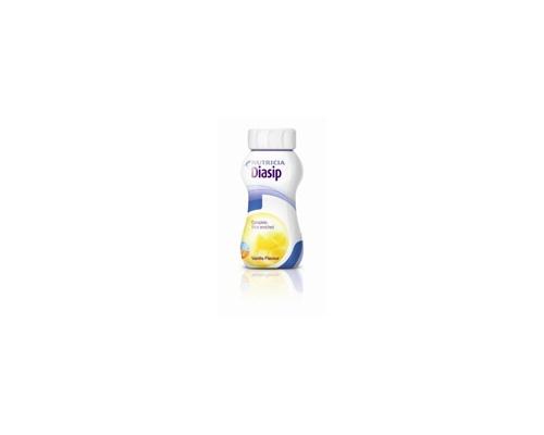 NUTRICIA DIASIP, Πόσιμο θρεπτικό σκεύασμα για συμπληρωματική διατροφή σε υγρή μορφή για διαβητικούς ασθενείς, με γεύση βανίλια 200ml