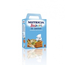 Nutricia Biscotti, Βρεφικά μπισκότα από τον 6ο μήνα 180γρ