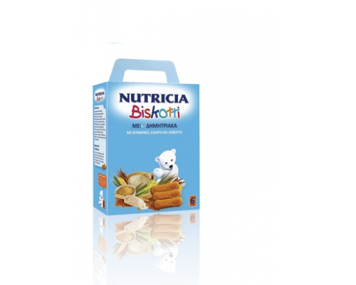 Nutricia Biscotti, Βρεφικά μπισκότα από τον 6ο μήνα 180γρ
