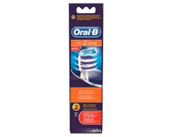 ORAL-B Trizone, Ανταλλακτικά κεφαλής ηλεκτρικής οδοντόβουρτσας 2 τεμάχια