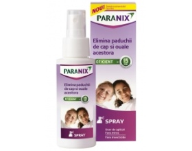 Omega Pharma Paranix Spray, Εξαλείφθει τις φθείρες και τα αυγά τους 100ml