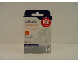 Pic Solution Delicate, Τσιρότο υπέρ απαλό και εξαιρετικά απορροφητικό 20 τεμάχια mix
