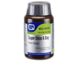 QUEST Super Once a Day, Συμπλήρωμα διατροφής με αντιοξειδωτικά και χημικά μέταλλα 30 ταμπλέτες