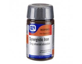 QUEST Synergistic Iron 15mg, Συμπλήρωμα διατροφής με σίδηρο, βιταμίνες Β, C και χαλκό 30 ταμπλέτες
