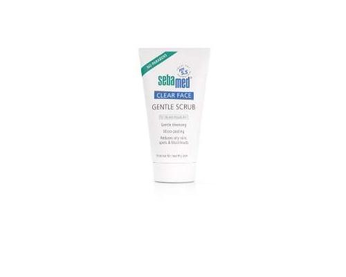 SEBAMED Clear  Face Gentle Scrub, Απαλό scrub για λιπαρές επιδερμίδες με ατέλειες 150ml