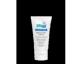 SEBAMED Clear face Mattifying Cream, Ενυδατική κρέμα προσώπου για ματ αποτέλεσμα 50ml
