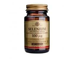 Solgar Selenium 100μg,  Συμπλήρωμα Διατροφής βασικό για την ομαλή ανάπτυξη που μπορεί επίσης να προστατεύσει θετικά από την ανάπτυξη καρδιακών και άλλων εκφυλιστικών παθήσεων 100 ταμπλέτες