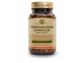 SOLGAR Thermogenic Complex  Φόρμουλα φυτικών στοιχείων που ρυθμίζει τον μεταβολισμό και βοηθάει στον έλεγχο του βάρους και στην καύση του λίπους 60 κάψουλες
