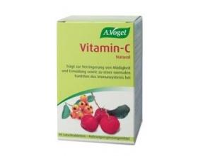A. Vogel Vitamin-C 40 tabs, Βιολογική 100% απορροφήσιμη βιταμίνη C από φρέσκια Ασερόλα, για την ενίσχυση του ανοσοποιητικού συστήματος,τη μείωση της κόπωσης και την βελτίωση του δέρματος