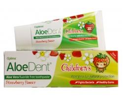 AloeDent Children's Fluoride Free Toothpaste,Παιδική οδοντόκρεμα χωρίς Φθόριο,  50ml
