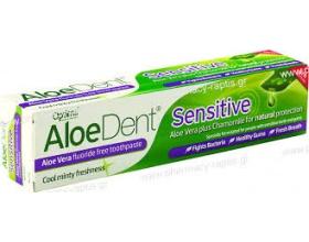 OPTIMA Aloe Dent Sensitive Toothpaste Οδοντόκρεμα Αλόης,100ml