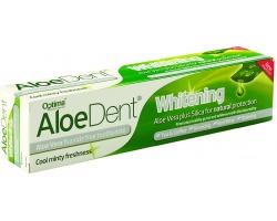 OPTIMA Aloe Dent Whitening Toothpaste Οδοντόκρεμα Αλόης Με Πυρίτιο Για Λεύκανση ,100ml