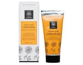 APIVITA Cream with Calendula Κρέμα με καλέντουλα δερματολογικά ελεγμένη με καταπραϋντική δράση 50 ml