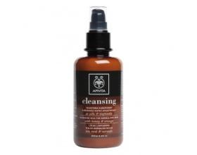 APIVITA Cleansing milk Γαλάκτωμα Καθαρισμού για Κανονικό / Ξηρό δέρμα με μέλι και πορτοκάλι 200ml