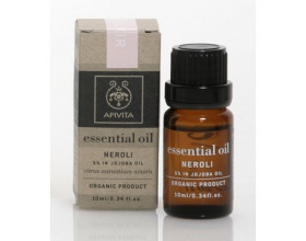 Apivita Essential Oils Αιθέρια  Έλαια Νερόλι με 5% έλαιο jojoba, 10ml