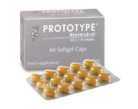 Boderm Prototype 60softgels, Συμπλήρωμα Διατροφής με αντιοξειδωτική προστασία που ενισχύει την υφή του δέρματος