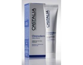 Castalia Chronoderm Creme Retinol, Αντιρυτιδική κρέμα προσώπου με ενεργή και σταθερή Ρετινόλη σταδιακής αποδέσμευσης, 30ml