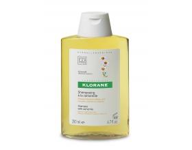 Klorane Shampooing à la chamomille, Σαμπουάν με χαμομήλι για χρυσαφένια λάμψη, 400ml