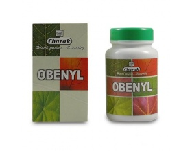 Charak OBENYL Dietary Supplement for the control of bulimia and obesity 100 Tabs
