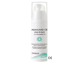 SYNCHROLINE Aknicare CHEST & BACK Γαλάκτωμα σε Spray ειδικά σχεδιασμένο για τη θεραπεία της ακμής στην πλάτη και το στέρνο 50 ml