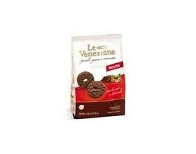 Le Veneziane -Molino di ferro Μπισκότα με σοκολάτα και φουντούκια 250 gr