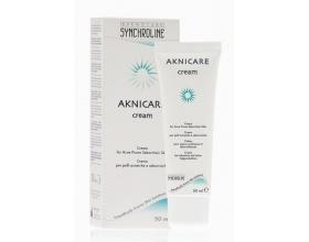 SYNCHROLINE Aknicare Cream - Κρέμα προσώπου με σμηγματορρυθμιστική και ενυδατική δράση 50ml