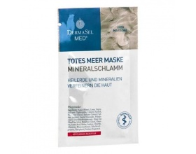 DermaSel MASK Mineralschlamm Μάσκα προσώπου για βαθύ καθαρισμό με ορυκτή λάσπη Νεκράς θάλασσας 12 ml