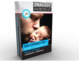 DNAlogy Test Πατρότητας (Παιδί & Πατέρας) Kit δειγματοληψίας, γρήγορο, έγκυρο, αξιόπιστο και διακριτικό