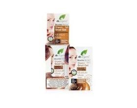 Dr. Organic Snail Gel Moisture Mask, Μάσκα Βαθιάς Ενυδάτωσης με Έκκριμα από Σαλιγκάρι, εξαιρετική θεραπεία ομορφιάς για αίσθηση έντονης καθαριότητας & λάμψης, 10 ml
