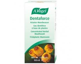 A.Vogel Dentaforce Mouthwash 100ml, Φυτικό Στοματικό Διάλυμα με φασκόμηλο, μέντα, μύρρο και κανέλλα για επίπονες φλεγμονές της στοματικής κοιλότητας