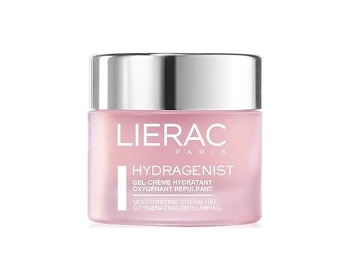 Lierac Hydragenist Gel Creme, Ενυδατικό Τζελ-Κρέμα Οξυγόνωσης & Επαναπύκνωσης, για Μικτές επιδερμίδες,με συγκέντρωση 7% σε σύμλοκο Hydra O2 προσφέρει στην Επιδερμίδα Έντονη & Άμεση Αίσθηση Δροσιάς  50 ml