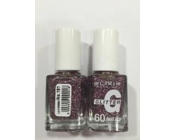 ELIXIR London Nail Polish Fast dry Βερνίκι νυχιών, με τρισδιάστατα glitter,  4G 60΄ Ν181 13ml
