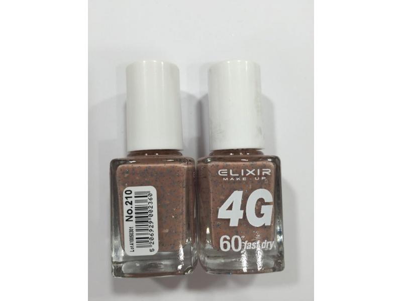 ELIXIR London Nail Polish Fast dry nail polish, with three ...